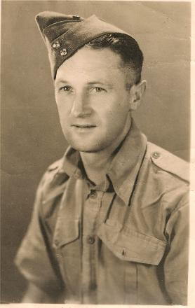 Photo of 65743 Gnr A Lamb, 7th NZ A/Tank. Killed in action 22nd July 1942 at El Mreir where 6th Brigade, 2NZEF was involved in an action with a German Panzer Division that was well supported by infantry divisions and was subsequently overrun.