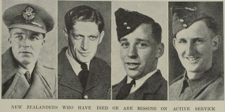Flight Sergeant Douglas William Gough (3rd from left)