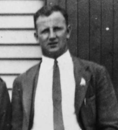 Frank Victor Adams in Burnham military camp just before world war 2