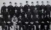 Middle row, first from the left is Pilot Officer Walter Alexander Caldwell. - No known copyright restrictions.