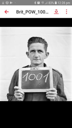 Photo taken on arrival at the Stalag September 1941
