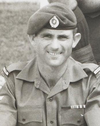 John MONK, Assault Pioneers, Support Compony, 1 RNZIR, Nee Soon Camp, Singapore 1970