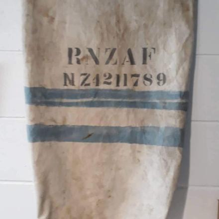 Image of Alfred George Daly's service number, taken from his kit bag.