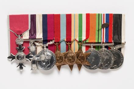 George ANDREWS medals