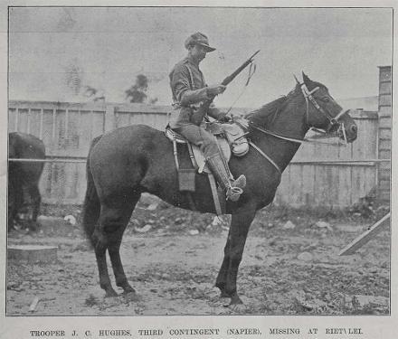 Trooper J.C. Hughes of Napier.
