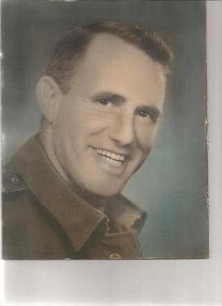 Photo of Dad in his Army uniform