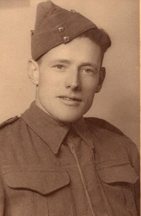 Taken before embarkment to North Africa about 1941
