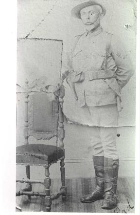 Photograph of Stapylton Cotton Caulton in uniform.
