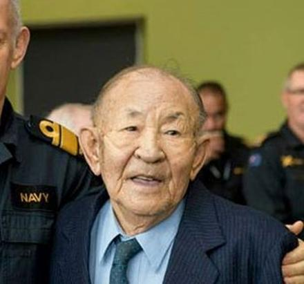 Mr Shiu at his RNZN retirement