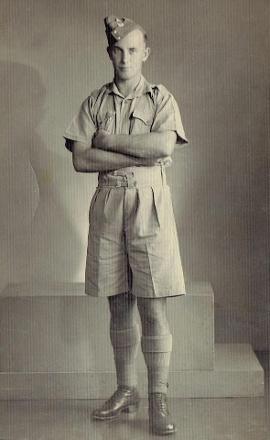 Doug in army uniform.