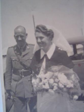 Wedding in Cairo Egypt, Married April 4th 1942