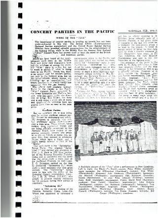 Article featuring David William Reid.