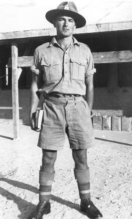 Dad in army uniform