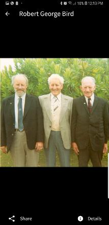 Brothers in Arms,  From left Uncle Monty and Pappy aka Frank Bird an Uncle Robert Bird. Born 13th February 1917 (birthday today 2019) died in my arms 29th July 2007. Forever loved x Happy birthday Uncle Robert xxx