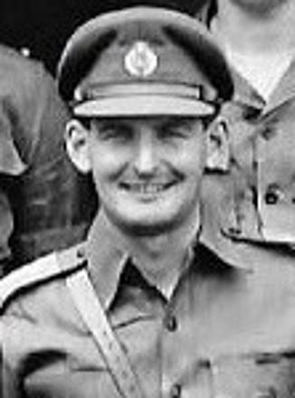 Lieutenant John Pennington GATLEY; Support Group, Headquarters Company, Taiping Malaya 1959