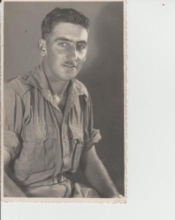 Taken on his 23rd birthday 12.05.1941 in Egypt