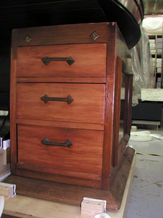 drawer units, pair