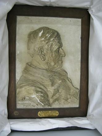 plaster portrait