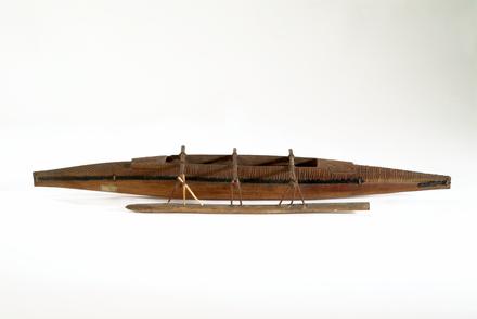 model, canoe