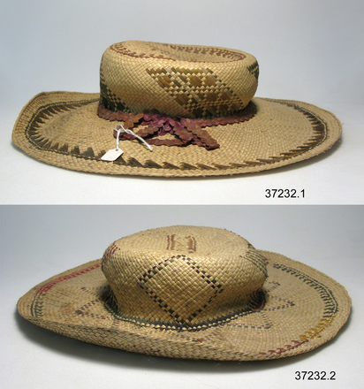 hats, two