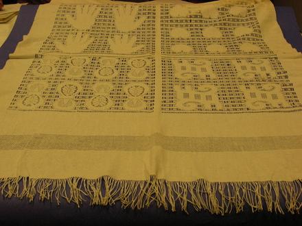 cloth, table