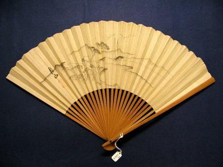 fan, paper