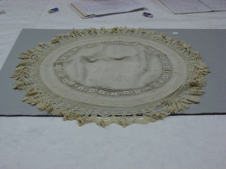 tablemat, circular
