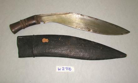 knife, kukri W2746