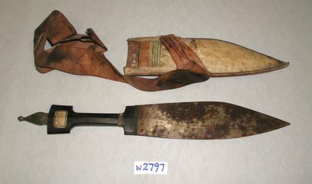dagger and sheath W2797