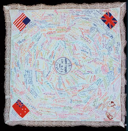 tablecloth, signature 1999.76.1