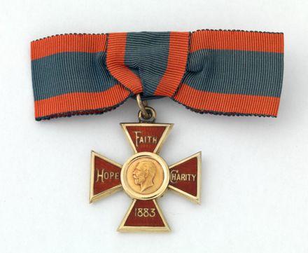 medal, royal red cross 1st class
