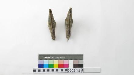 shoes; lotus feet; 2008.18.1a