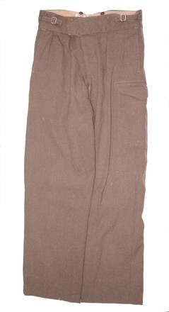 trousers, battledress U162.3