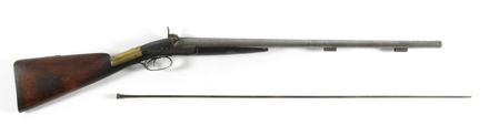 shotgun, double barrel percussion