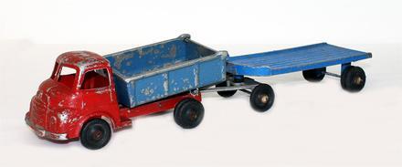 JUMBO TOYS – truck and trailer; 2013.52.2