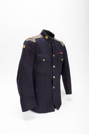 tunic: Arthur Cecil Douglas Flintoff Mickle NZ Legion of Frontiersmen; 2013.20.1.1