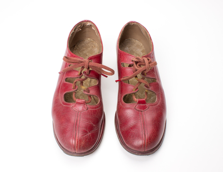 shoes; Joyce shoes; 2014.16.1