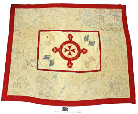 quilt, Red Cross and St John fundraising