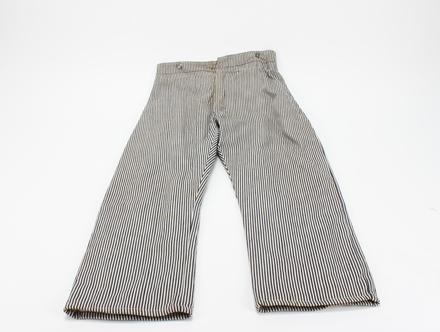 trousers, striped U097.4