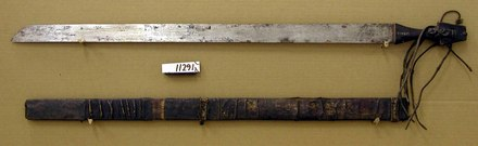 sword and scabard