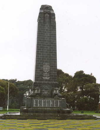 Invercargill Cenotaph - No known copyright restrictions
