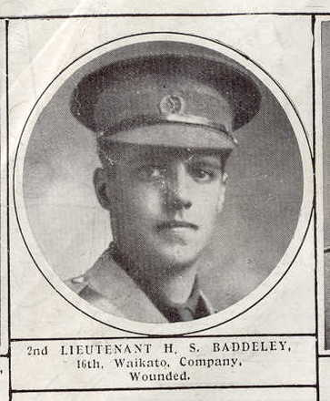 Portrait, Herman Stuart Baddeley (Weekly News 13 May 1915)- No known copyright restrictions