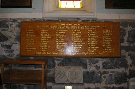Memorial roll, St Paul's Church (photo John Halpin November 2011) - CC BY John Halpin