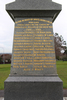 Howick & Pakuranga War Memorial, WW1 (photo J. Halpin August 2013) - No known copyright restrictions
