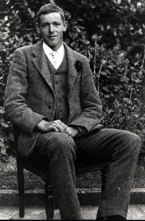 Photograph of Ernest Blaza provided by Fredda Martin. - No known copyright restrictions