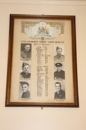 Roll of Honour, Loyal Warkworth Pioneer Lodge M.U.I.O.O.C., Warkworth & District Museum - No known copyright restrictions