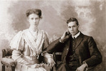 Portrait, Cecil Frank Booth (21485) with his sister, Florence Louise Roderick nee Booth (kindly provided by family) - No known copyright restrictions
