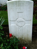 Image of Gravestone at Messines Ridge British Cemetery provided by Paul Hickford 2011 - No known copyright restrictions