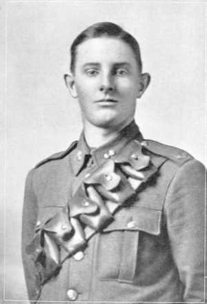 Portrait from the King's College Honour Roll, WWI. - No known copyright restrictions