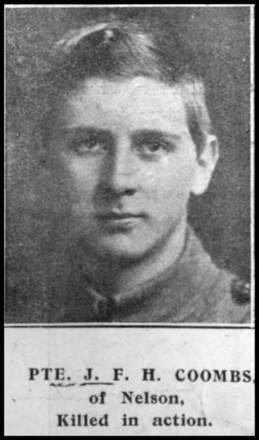 Portrait, from newspaper, provided by Peter Millward - No known copyright restrictions